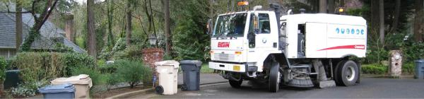 Lake Oswego Public Works Operations - Street Sweeper